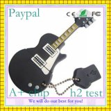 Black Guitar Shape USB Flash Drive (GC-G007)