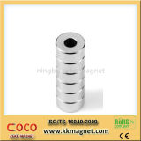 Custom Sintered Ring Permanent NdFeB Magnet with ISO9001