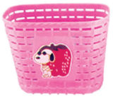 2016 Colorful Plastic/ Steel Bike/ Bicycle Basket (BL-003)