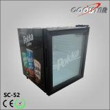 Supermarket Soft Drinks Display Refrigeraing Showcase