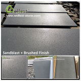 Black Grey Bluestone Lava Stone Basalt Tile for Pavers/Paving/Floor/Flooring/Wall Cladding