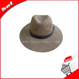 Straw Paper Sun Fedora Fashion Hat