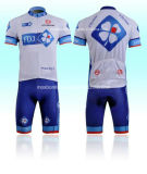 Mountain Bike Uniforms, Short Sleeve Cycle Jersey, 3D Padded Shorts