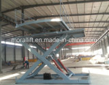 CE Approved Scissor Car Lift Platform with Low Price