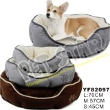 Soft Fleece Fabric Cheap Pet Bed for Dogs (YF82094)