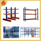 Warehouse Drive in Pallet Mezzanine Floor Arm Cantilever Rack