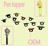 Top Quality OEM Rubber Pencil Topper