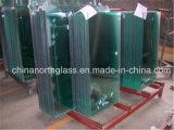 CCC/SGCC Certificate 2mm-22mm Flat/Curved Clear Tempered Glass