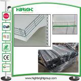Chrome Metal Wire Fence Divider for Supermarket Shelf