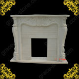 Carved Marble Fireplace Mantel Surrounds