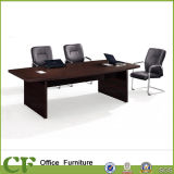 Black Office Wooden Conference Table for Office Meeting