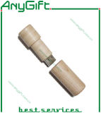Wooden USB with Customized Logo and Shape 23