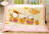 High Quality Super Soft Raschel Baby Blanket (SR-BB170301-22)