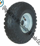 "Pneumatic Rubber Wheel for Universal Trolley Wheels (10""X4.10/3.50-4)"