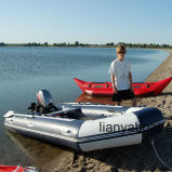 Liya 2m to 7m Inflatable Tube Rubber Boat with Motor