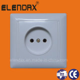 European Style Flush Mounted 2 Pin Socket Outlet (F6009)