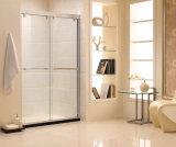 Safety Glass Shower Enclosure Cabinet / Bathroom Promotion Swing Shower Screens (E4)