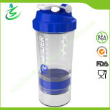 PP Material Spider Shaker Bottle with Storages