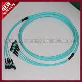 Data Center 8 Cores Fiber Optical 10G MPO-MPO Patch Cord