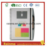 PVC Cover Notebook with Memo Sticky
