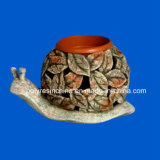 Polyresin Oil Burner with Snail Shape