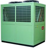Modular Central Heat Pump (cooling, heating and hot water)
