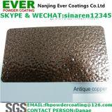 Middle Rough Textured Antique Black Copper Hammertone Powder Coating Paint