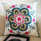 45X45cm Embroidery 100% Cotton Decorative Sofa Pillow Cushion Cover (C14106)