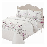 4 Seasons as Spring Embroidery Bedding Set