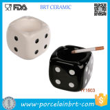 for Sale Ceramic Dice Table Cigarette Ashtray