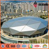 Ideabond Metal Building Materials PVDF Aluminum Exterior Wall Panels