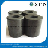Cylinder Permannet Ferrite Magnet Multipole Magnet Rings for Stepping Motor