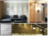 3D Plastic Wall Panel/Paper/Sticker for Home Decoration