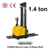 1.4 Ton Electirc Stacker Electric Lifts with CE Certificate (CDD14-930)