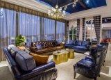 Modern American Classic Fabric Leather Sofa