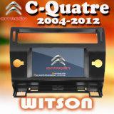 Witson Car DVD Radio GPS for Citroen C-Quatre (W2-D9956CI)