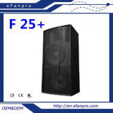 Complete in Specifications (F 25+) Dual 15 Inch Loudspeaker Professional Speaker