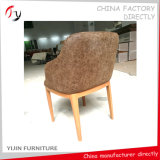 Chinese Manufacturing Factory Making Round Armrest Taproom Chair (FC-142)