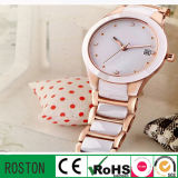 Quartz Movement Water Resistant Lady Fashion Watch
