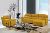Recliner Leather Sofa Sets for L Shape Living Room Used