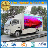 5 T Outdoor LED Screen Truck 4*2 Mobile Advertising Vehicle
