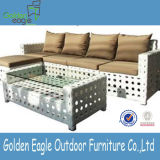 Wide Rattan Furniture Feelings Garden Sofa Set