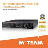 Project Use on 8CH 960h Stand Alone DVR System with 4u HDD (MVT-62B08D)