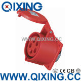 IP44 Flush Mounted Outlet for Industrial Application (QX-3451)