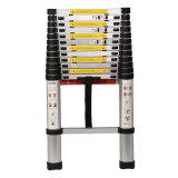 Aluminum Material 150kgs Load 3.8m Telescopic Ladder
