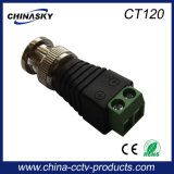CCTV Coaxial Male BNC Connector with Screw Terminal (CT120)
