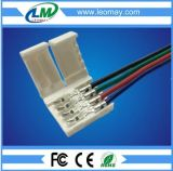 Solderless 2pin 3pin 5050RGB flexible LED strip connector