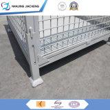 Heavy Duty Mesh Box Customized Folding Wire Mesh Pallet Box Wire Mesh Logistic Pallet Box