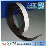 White Thick Magnetic Sheets Strip Rolls Adhesive