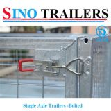 Single Axle Bolted Cage Trailers with Excellent Quality